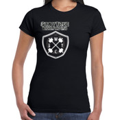 Ladies Weightlifting Crest - Gildan Slim